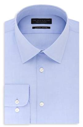 Bloomingdale's The Men's Store at Solid Stretch Slim Fit Dress Shirt - 100% Exclusive