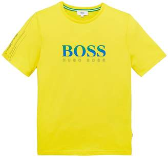 BOSS Boys Special Edition Brazil Short Sleeve T-shirt