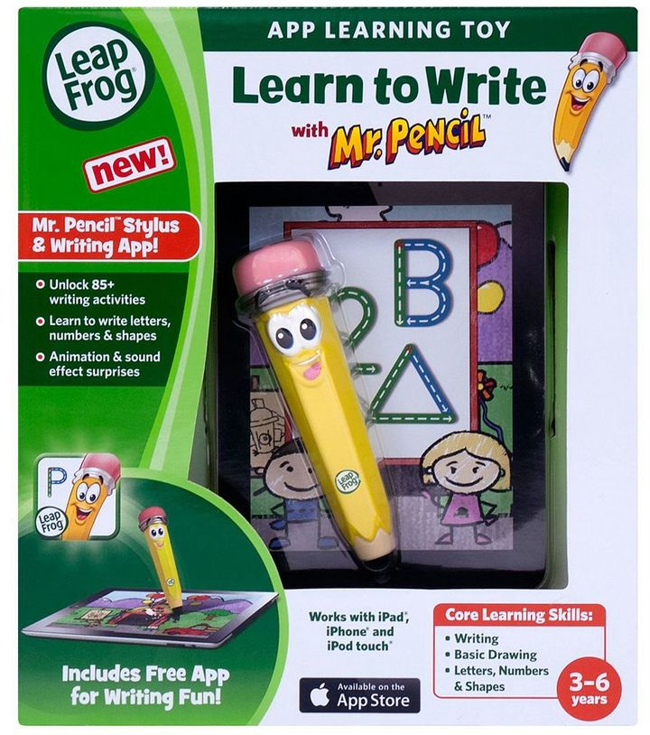 Leapfrog Learn to Write Mr. Pencil & App