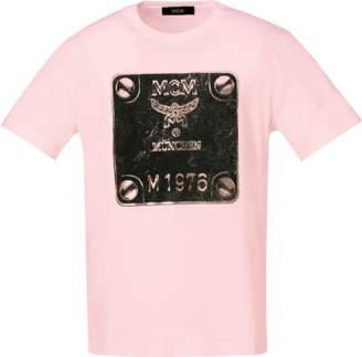 MCM Men's Brass Plate T-shirt