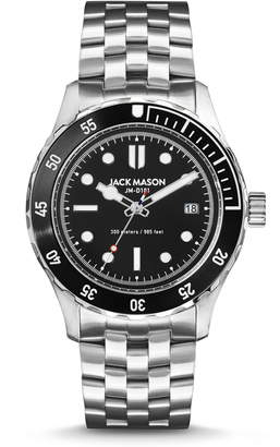 Jack Mason Diving Bracelet Watch, 42mm