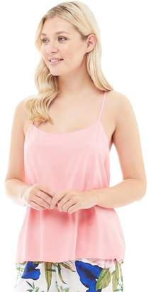 Only Womens Nova Strap Top Strawberry Ice
