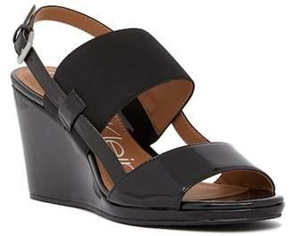 Calvin Klein Bethan Slingback Wedge Sandal