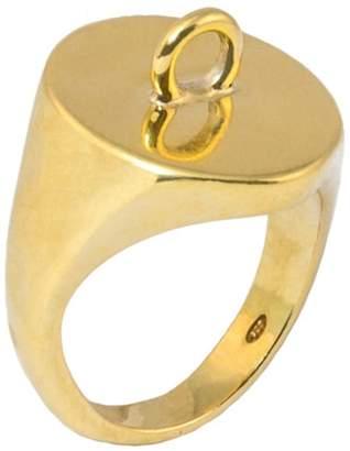 Glenda López The Link Signet Ring