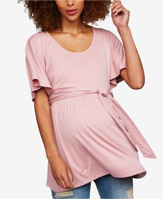 A Pea in the Pod Maternity Babydoll Blouse