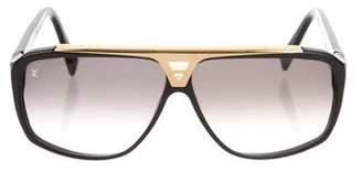 Louis Vuitton Evidence Aviator Sunglasses