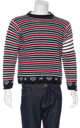 Thom Browne Striped Wool & Mohair Sweater