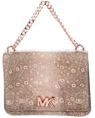 MICHAEL Michael Kors Embossed Leather Crossbody Bag