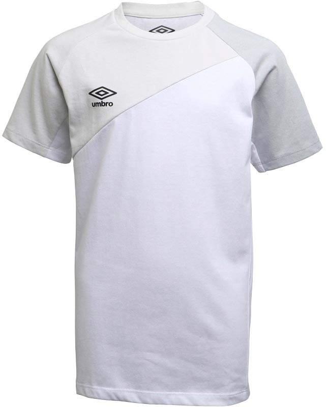 Junior Boys Teamwear Cotton Training Top White/Nimbus Cloud/High Rise