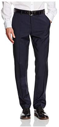 Esprit Men's 993EO2B902 COMF Wool Relaxed Suit Trousers,32L (Manufacturer Size:94 )