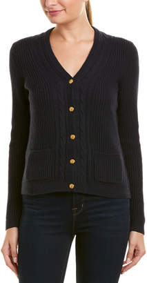 Brooks Brothers Wool-Blend Cardigan Sweater