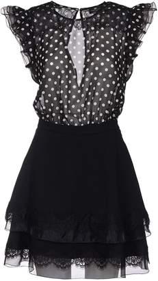 Elisabetta Franchi Celyn B Polka-dot Two-piece Dress