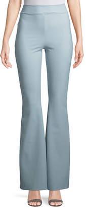 Chiara Boni Venus High-Waist Wide-Leg Pants