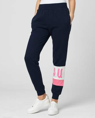 Juicy Couture Color Block Fleece Track Pant
