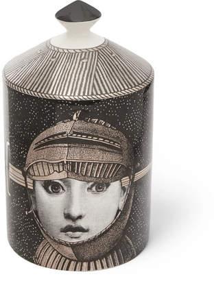 Fornasetti Armatura Scented Candle, 300g - Black