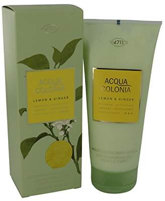 4711 Unknown Acqua Colonia Moisturizing Body Lotion, Lemon And Ginger, 6.8 Ounce
