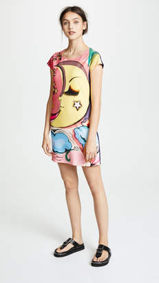 Moschino Moon Shirt Dress