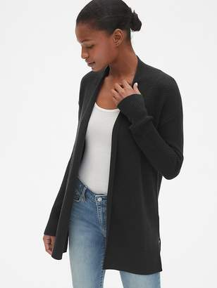 Gap True Soft Open-Front Cardigan Sweater