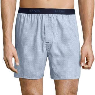 Hanes Men's FreshIQ ComfortFlex Waistband Boxer 4-Pack