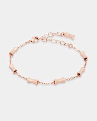Ted Baker FAIZA Mini faceted bow bracelet