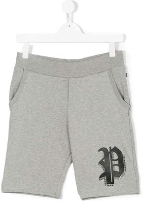 Philipp Plein Junior track shorts
