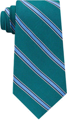 Club Room Men's Collegiate Stripe Silk Tie, Created for Macy's