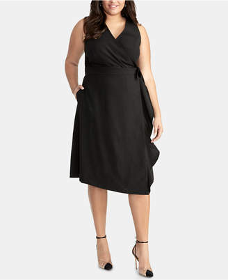 Rachel Roy Etta Side-Tie Trench Dress