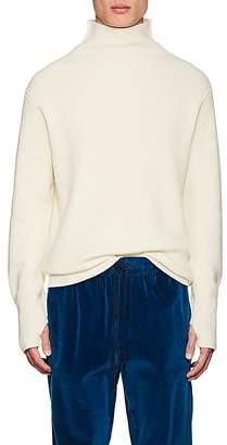 Barena Venezia Men's Rib-Knit Wool Turtleneck Sweater