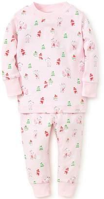 Kissy Kissy Light-Pink Snow-Day Pajama-Set