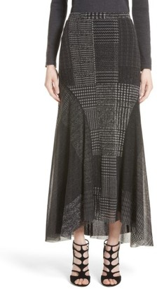 Women's Fuzzi Tulle Maxi Skirt $445 thestylecure.com