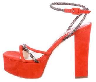 Brian Atwood Gigi Platform Sandals