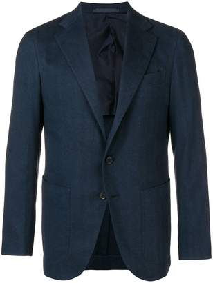 Caruso single breasted blazer
