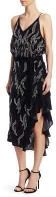 DAY Birger et Mikkelsen Dodo Bar Or Agenes Embellished Chiffon Midi Dress