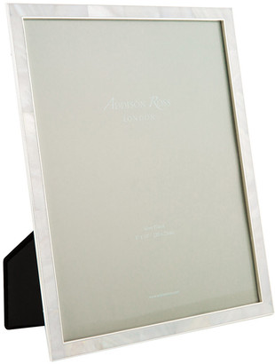 Mother of Pearl Cream & Silver Photo Frame