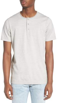 WINGS AND HORNS Marled Jersey Henley
