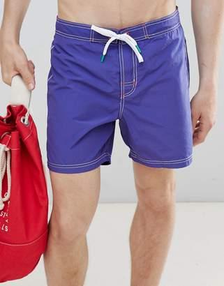 Benetton Swim Shorts In Blue