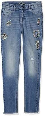 GUESS Girl's J83a04d37d0 Jeans, (Nineties Light Blue Nnlb), (Size: 16)