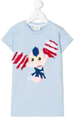 Fendi Pirochan cheer print T-shirt