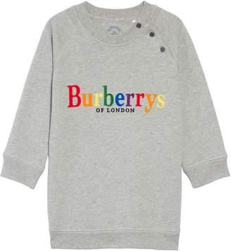 Burberry Mala Archive Logo Sweatshirt Dress