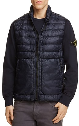Stone Island Quilted Down Vest $415 thestylecure.com