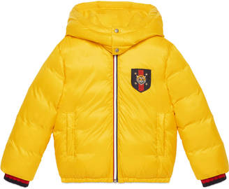 Children's quilted nylon jacket $820 thestylecure.com