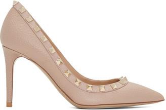 Valentino Pink Rockstud Heels $845 thestylecure.com