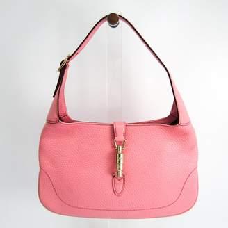 Gucci Pink Leather New Jackie Shoulder Bag (SHA14399)