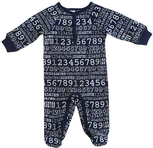 Cynthia Rowley Number One Coverall - Navy (6-9 Months)