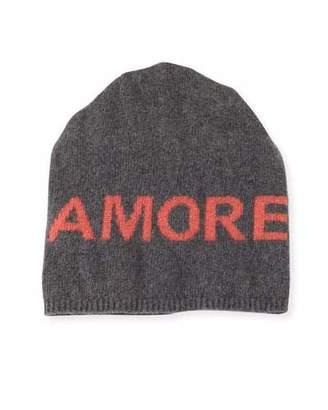 Portolano Boyfriend Amore Cashmere Knit Beanie Hat