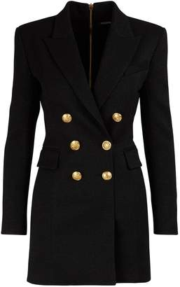 Balmain Wool jacket dress