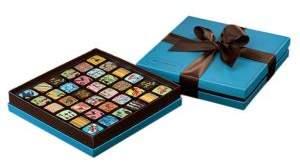 MarieBelle 36-Piece Ganache Blue Box Set
