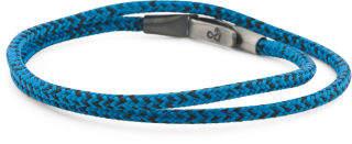 Made In Great Britain 925 Blue Noir Liverpool Rope Bracelet