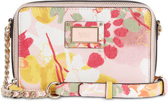 9162b1a693 GUESS Shannon Floral Mini Crossbody Camera Bag
