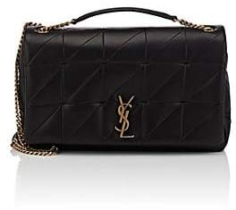Saint Laurent Women's Jamie Giant Leather Chain Bag - Black